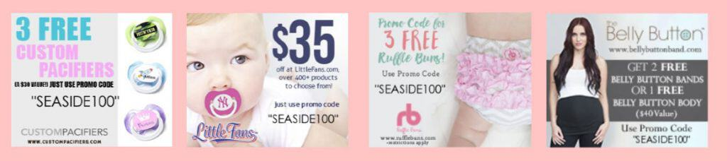 Freebies for expecting moms.