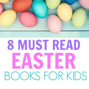 I love these Easter books for kids! These books are great for preschoolers to learn about Easter egg Hunts, the Easter bunny and all things Easter! #Easter #booksforkids