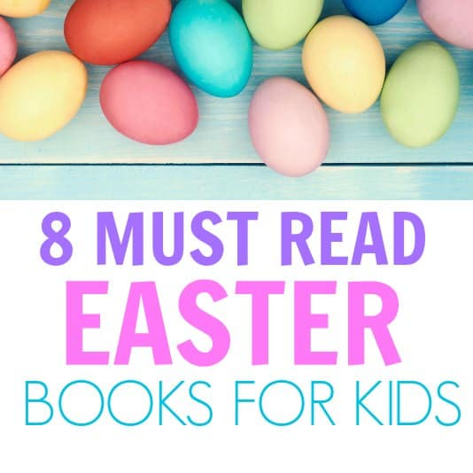 I love these Easter books for kids! These books are great for preschoolers to learn about Easter egg Hunts, the Easter bunny and all things Easter!