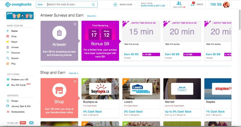 How Much Video Earnings Swagbucks Per Day How To Bot Swagbucks