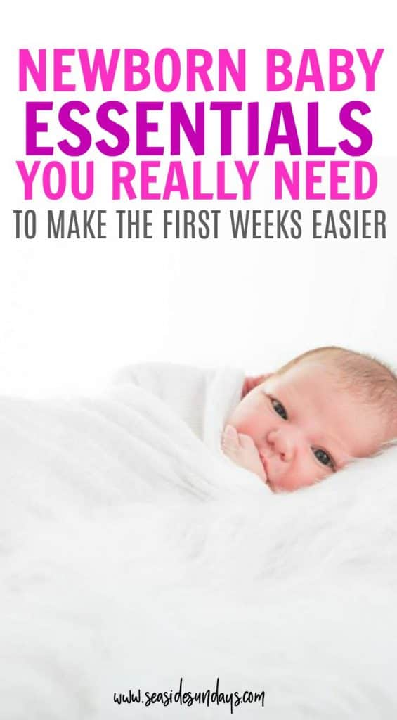 I love these ideas for baby registry items that you might not have thought of! They would all make great shower gifts and are essentials for any newborn baby must-have list.  If you want to know what baby stuff you really need, the newborn baby products that will change your life!