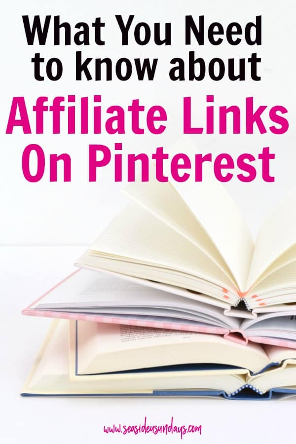 Affiliate links on Pinterest - how to use them, how to stay legal and what products to promote This tutorial will show you how to make money with affiliate marketing. Bloggers and WAHMs can make extra money using their pins. You can get paid just for going on Pinterest. Learn the best ways to use affiliate links on your pins to increase your income. Learn which are the best affiliate programs to join and which products sell well for affiliate marketers on Pinterest.