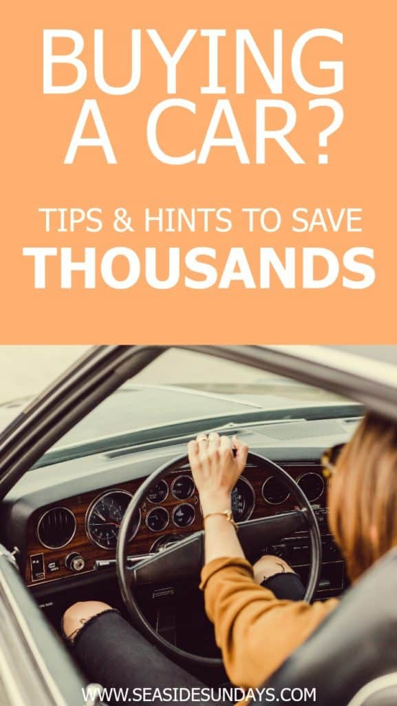 Tips for saving money when buying a car. Car buying tips for first time buyers