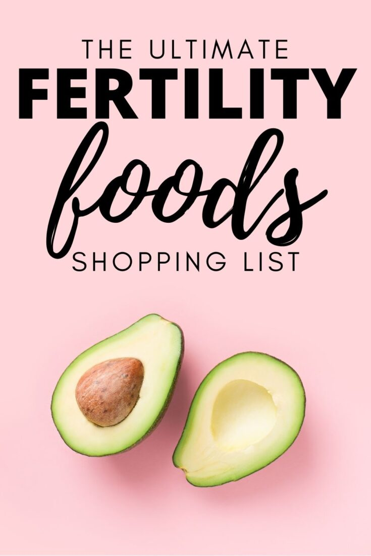 Fertility foods list