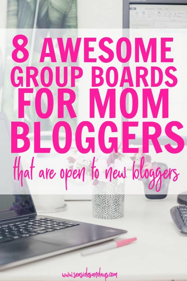 Pinterest group boards for mom bloggers that are open to contributors. The group boards for new bloggers to join! These group boards are for mom bloggers and great for getting free traffic to your blog. Increase your blog traffic and get your pins seen by joining these open group boards. How to use Pinterest group boards to grow your blog traffic.