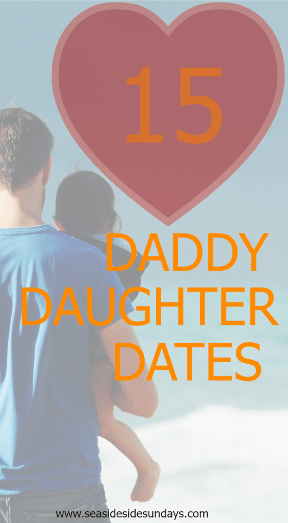 Great father-daughter date ideas. Lots of them are free! Perfect activities for little girls and their dads. www.seasidesundays.com
