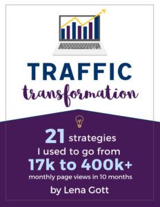 Traffic Transformation guide to growing your blog traffic with social media