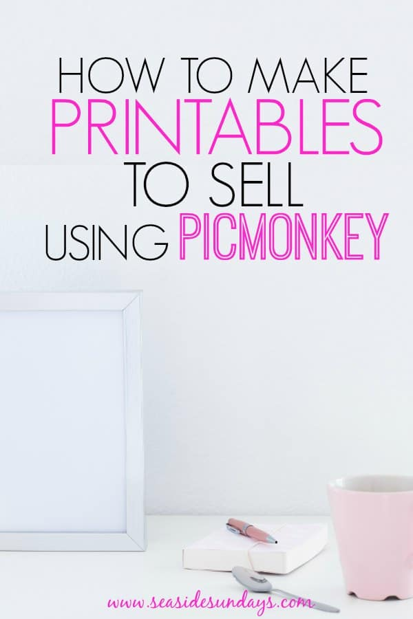 photograph relating to Etsy Printables named How towards Create Attractive Printables Taking Picmonkey