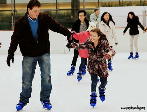 The best father daughter dates -skating