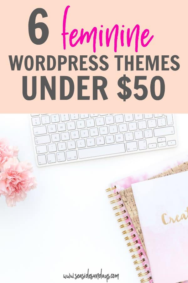 Cheap WordPress Themes! These Genesis Child themes are under $50 and are gorgeous and girly. Great for new bloggers who want to save money but have a great looking blog. Start a blog without spending a lot of money with these fantastic WordPress themes.