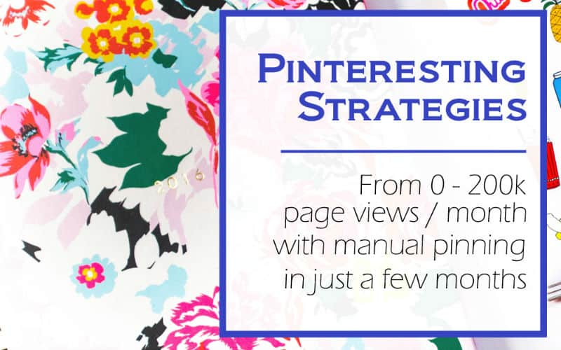 How to grow your blog trafffic using Pinterest. Manual pinning strategies.