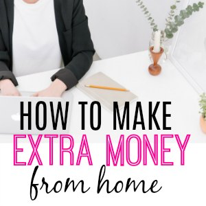 Make money fast with these ideas for earning a side income at home and online. Easy ways to make extra money for SAH moms and college students. Tips for making money with Etsy, writing, online and working from home. Learn about flexible jobs that pay immediately. If you want to make money from home, these 75 jobs will give you great ideas and options.
