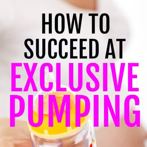 How To Improve Your Supply When Exclusive Pumping