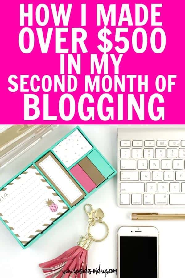 ncome Report! Make money blogging using these tips on Affiliate Marketing.Increase blog traffic using Pinterest to promote your blog post!My first blog income report showing you how I make money blogging