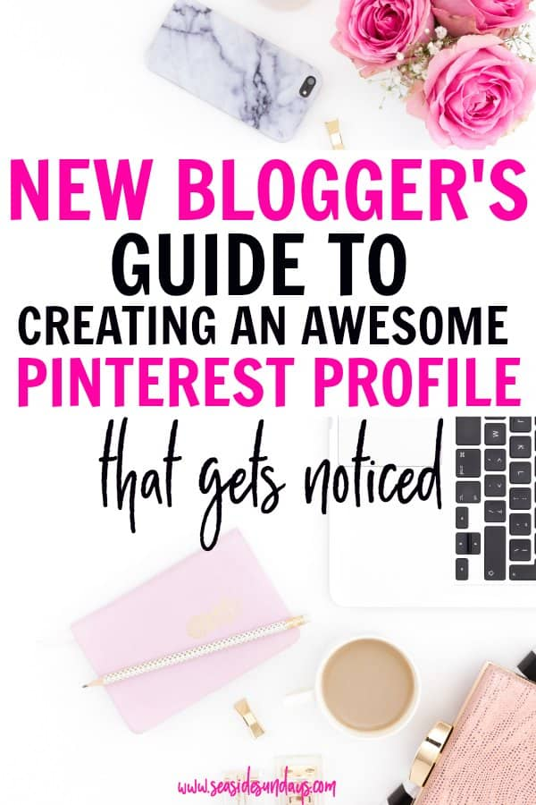 Increase your blog traffic with these Pinterest tips and tricks for creating a great Pinterest profile and improving your Pinterest SEO. How to write Pinterest descriptions, do you need Pinterest board covers, how to find keywords for your pins.