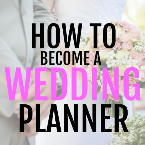 Become a Wedding Planner and Make $2000 a month part-time