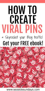 Want a viral pin? Grab this free ebook that will show you step by step how to create a pin that goes viral and gets tons of traffic quickly! Grow your Pinterest traffic and get more exposure for your pins with these tips and tricks. Tips on how to create the perfect pin description, what size should pins be on Pinterest. How to use keywords on Pinterest. How to find pinnable images and free stock photos. What size pins to use. This is a free course for bloggers who want to grow their traffic.