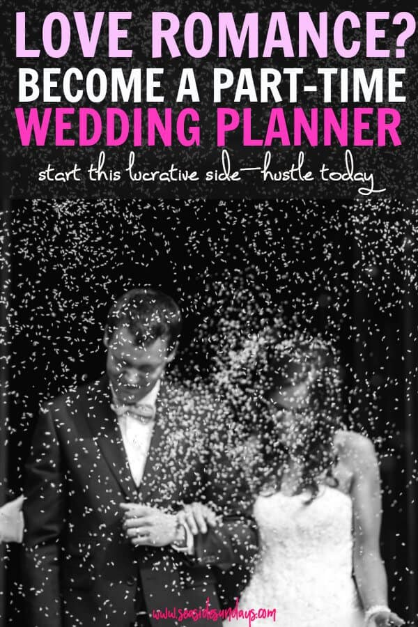 How to Become a Wedding Planner and make money from home in your spare time. This is a great side job for busy moms who can only work on the weekends. Wedding planning is a great career - learn how much money wedding planners make, a sample wedding day itinerary and get a free printable wedding day emergency kit checklist #wedding #weddingplanner #freeprintable #freebies #weddings #weddingbusiness #weddingtips