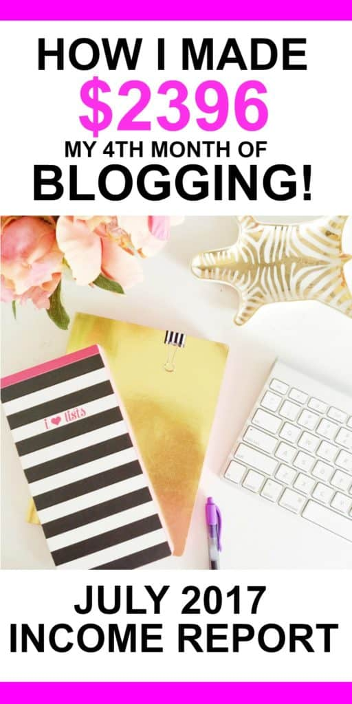 My blog income report for July 2017. Do bloggers make money? Find out how I doubled my blog traffic to over 70,000 page views. I also doubled my income through affiliate marketing and ads. Tips and tricks for making money from affiliates. The best programs and how to use links on Pinterest. How to grow your blog traffic on Pinterest, Stumbleupon and other social media platforms. Can you make money blogging? Learn how to start a profitable blog.