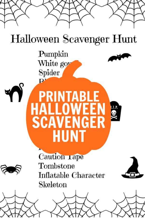 Halloween Scavenger hunt for kids. If you are looking for Halloween ideas for kids to do, this is a great Halloween activity for kids! Find out what you need and download our free printable Halloween treasure hunt. Get the kids dressed up in their Halloween costumes and go on a Halloween stroll. This is a great Halloween activity for daycares and scout groups