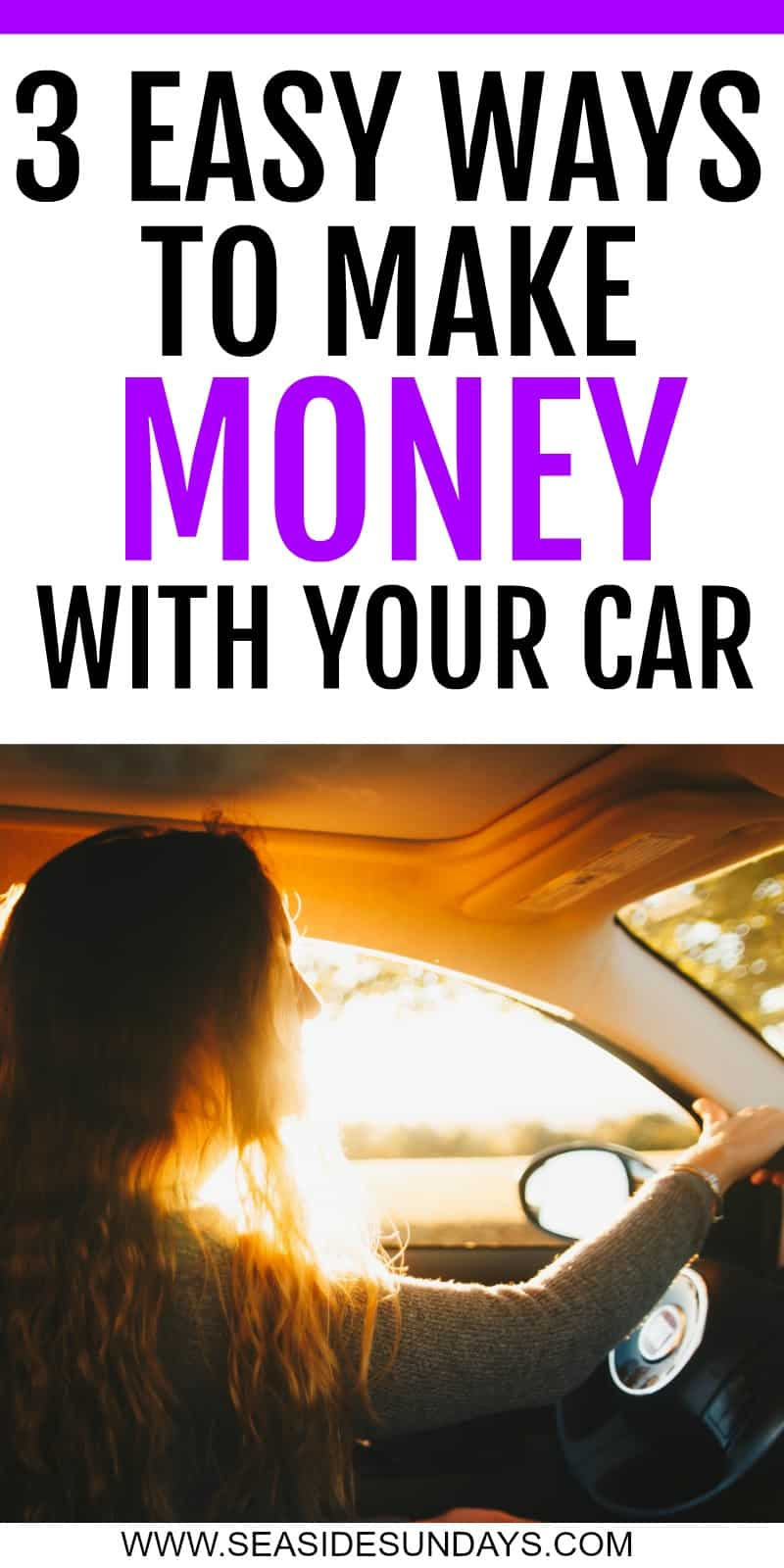 3 Easy Ways to Make Money with Your Car!