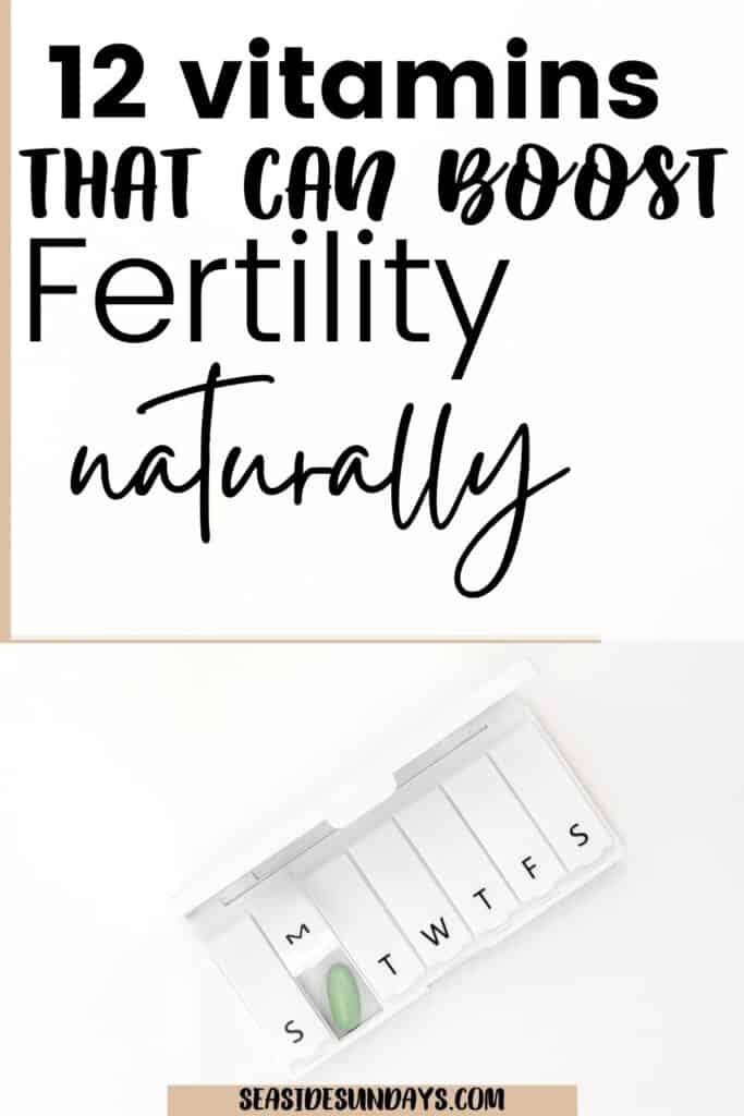fertility vitamins
