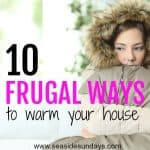 10 Frugal Ways to Keep Warm This Winter