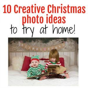 10 Creative Christmas Photos Ideas you can do at Home