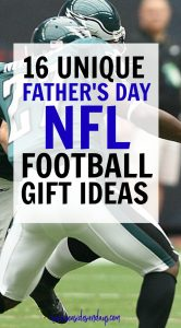This is a great NFL gift guide for football fans. Father's day ideas. I love this list of ideas for football coach gifts. If you are looking for Father's day gift ideas or groomsman gift ideas, you will love these NFL gift ideas. Father's Day | Gift guides | Football gift ideas | groomsman gifts