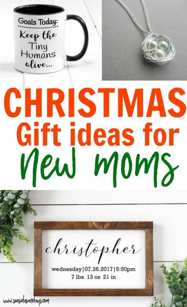 Holiday gift ideas for a new mom! This Christmas gift guide for pregnant  moms or - 8 Unique Gifts For New Moms