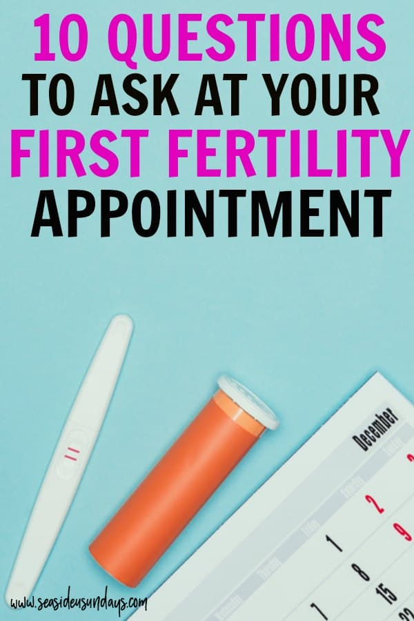 Questions to ask at your first fertility appointment. Tips for choosing a fertility clinic for IVF or IUI. If you are trying to get pregnant and struggling with infertility, these tips will help you pick the right clinic for your fertility treatments and help you get pregnant faster. width=
