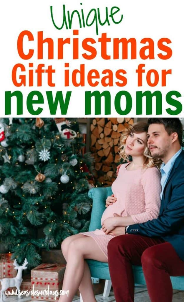 Christmas gift ideas for new moms and pregnant moms-to-be. These gifts from Etsy are unique and will thrill new mamas! Great holiday gift ideas for new parents.