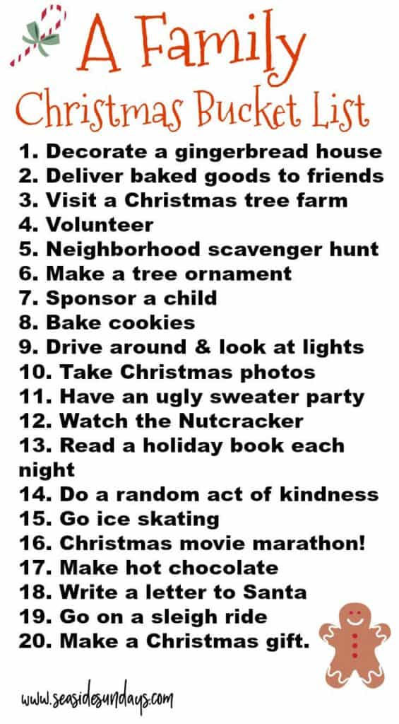 20 Must Do Holiday Traditions For Families