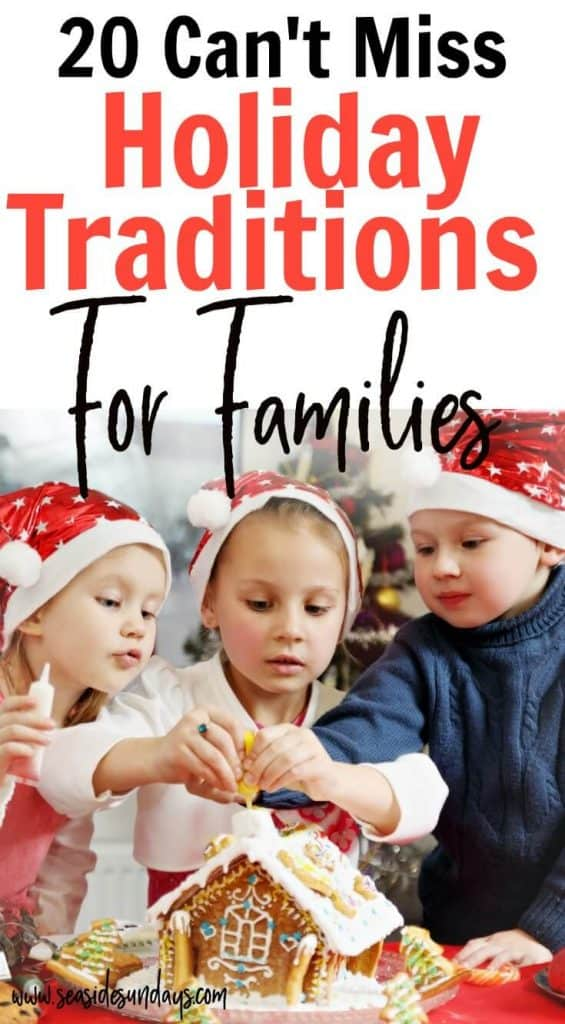 Christmas bucket list for families! These holiday traditions for families are perfect for creating a magical Christmas for your toddlers and kids. If you are looking for fun Christmas activities for your children, this list has ideas from Christmas crafts to random acts of kindness and ice skating!