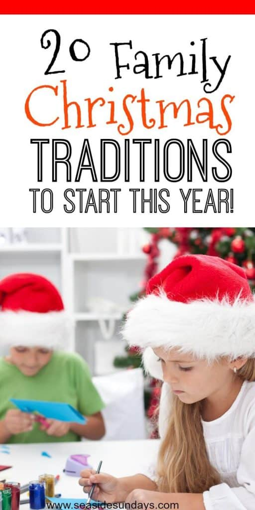 Christmas Traditions for kids. Holiday Bucket list of fun family activities