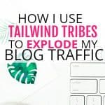 Tailwind tribes are a great way to grow your blog and increase your blog traffic. Use this free tool to gt more pageviews for your blog.