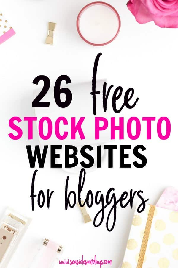 Free stock photos for bloggers for all niches! These sites are awesome for getting images for your blog for free! Get feminine styled stock, photos of people, places and food at these stock photography websites. #freestock #blogging #photosforbloggers