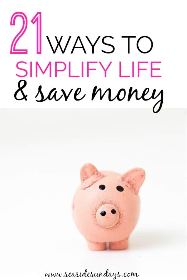 These 21 Money Saving tips are great! If you want to simplify your life and save money, they are THE BEST! I'm so happy I found these GREAT money tips! Now I have great ways to save money on almost everything in my life!