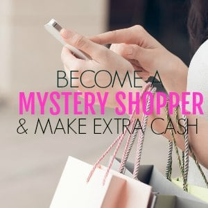 Become a mystery shopper and make extra cash! ! Mystery shopping is a great way to increase your income and make money. It's awesome for sahm, students and people who want to get paid to shop!