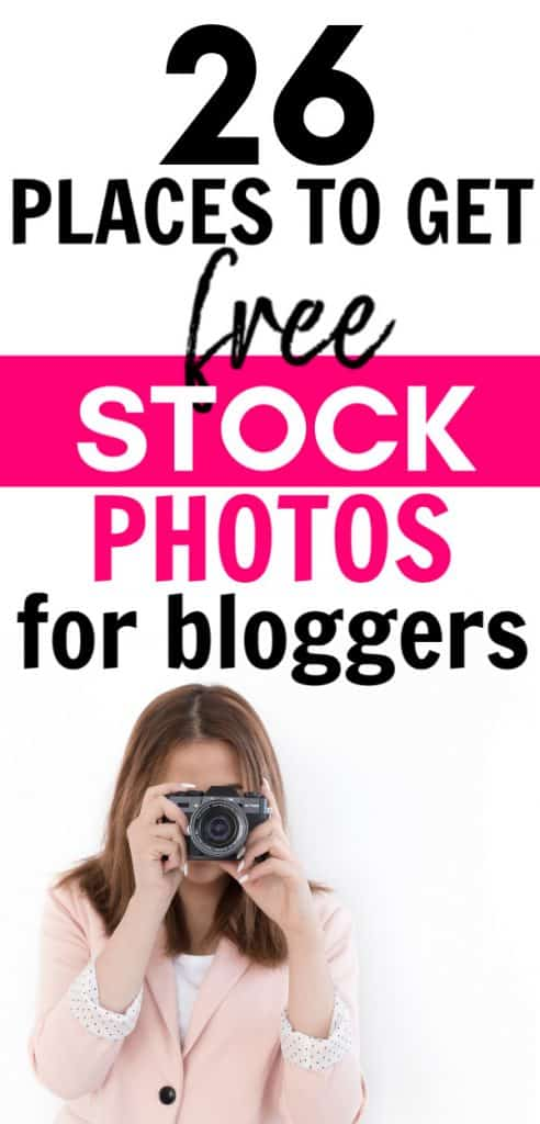 where to get free stock photos for your blog