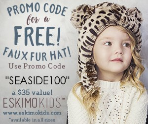 Canadian baby freebies -free baby stuff for 2019- use code SEASIDE100 for a FREE faux fur hat