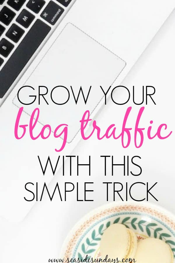 This trick to grow your blog traffic is so simple! This takes you step by step on what you need to do to create multiple images for your blog posts and hide them on WordPress. This is a great way to grow your Pinterest traffic and A/B test different pinnable images. #blogtraffic #blogging #pinterestmarketing