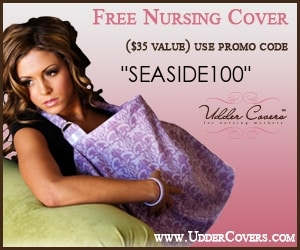 Canadian baby freebies - free baby stuff for 2019- use code SEASIDE100 for a FREE nursing cover from Udder Covers