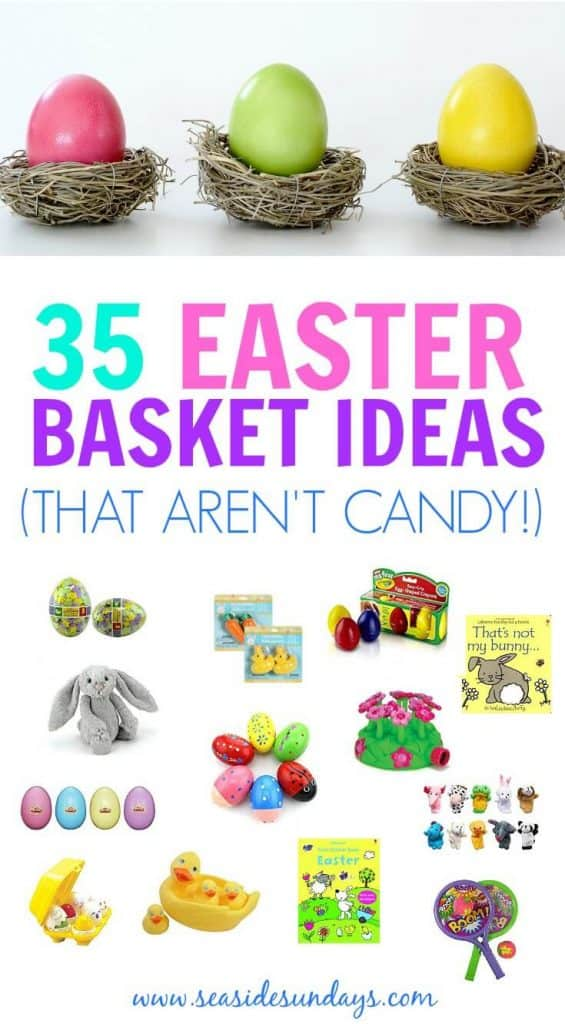 35 non candy easter basket ideas for kids seaside sundays budget friendly easter baskets easter for toddlers easter basket ideas for babies teen negle Image collections