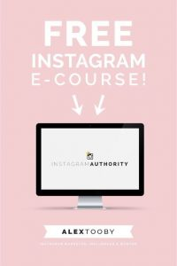 free instagram course for bloggers. Get engaged followers and rock instagram with this FREE Course for bloggers