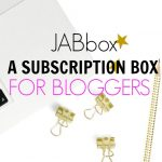 A Subscription Box for Bloggers – JABbox Review