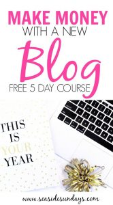Yes! Bloggers can actually make money blogging! This FREE course takes you through the basics from start up to getting sponsored posts & choosing an ad network