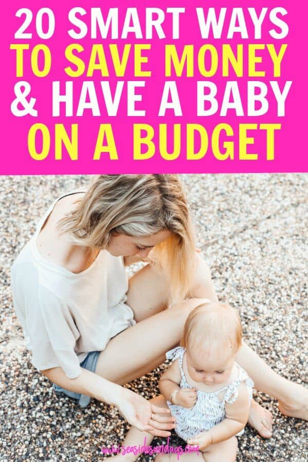 save money on baby. Tips for having a baby on a budget and sticking to a frugal lifestyle even when you are pregnant or on maternity leave. Is having a baby on a budget even possible? Yes! start saving money on baby stuff, must-have items and get tons of free baby stuff with checklist of20 tips for a frugal pregnancy.