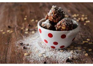 Quinoa Protein Bites fertility friendly desserts