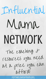influential mama network by Inez Bayardo